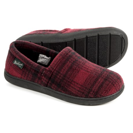Woolrich Chatham Run Fleece Slippers (for Men)