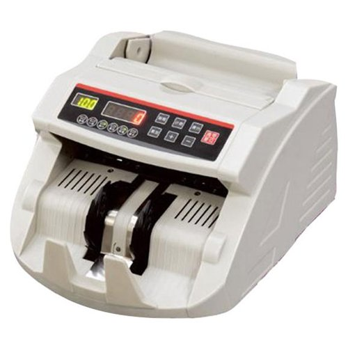 GSI GEU2108T Ultra Safe Electronic Money/Cash Bill Counter With Front LED Screen Display Automatic UV And MG Counterfeit Detection For Retail Stores, Offices And Institutions-( Sold as Unit )