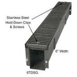 Steel Grate Trench Drain 6x1