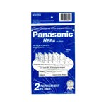 Panasonic Mc-v195h 2-pack Of Hepa Filters