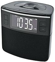 Sylvania Scr1986bt-as Bluetooth Clock Radio With Auto-set Dual Alarm Clock And Usb Charging - Black