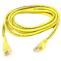 Belkin Cat. 5e Patch Cable - Rj-45 Male - Rj-45 Male - 7ft A3l791b07ylws