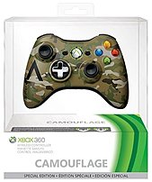 Microsoft 885370600759 43g-00049 Special Edition Wireless Controller For Xbox 360 - Camo