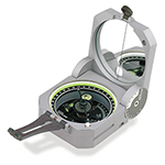 """""""Brunton Geo 0-360 Degree Brand New Includes Lifetime Warranty, The Brunton Geo Transit 0-360 is a solid aluminum, waterproof pocket transit that contains a fast, magnetic north seeking, rare-earth magnet, balanced on a sapphire jewel bearing for quick measurements"""