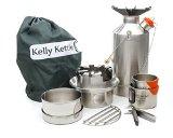 Kelly Kettle Ultimate Stainless Steel Lg Base Camp Kit - New Spot Welded Model