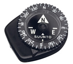 """Suunto Clipper L/B NH Brand New Includes 2 Year Manufacturer's Warranty, Product # SS004102011 The Suunto Clipper L/B NH is a compact compass featuring a liquid filled capsule with luminous markings for the cardinal directions and a rotating bezel"