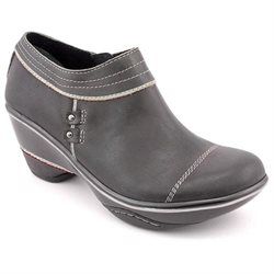 Jambu Beijing Womens Black Leather Booties Shoes EU 36.5