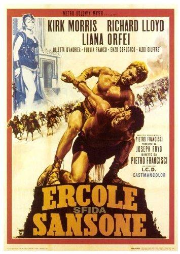 Hercules, Samson & Ulysses Poster Movie Italian 11 x 17 In - 28cm x 44cm Kirk Morris Iloosh Khoshabe Liana Orfei Diletta D'Andrea