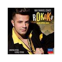 Max Cencic - Rokoko - Hasse Opera Arias (Music CD)