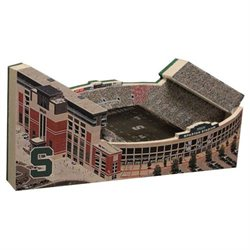 Michigan State - Spartan Stadium Replica w - Display Case
