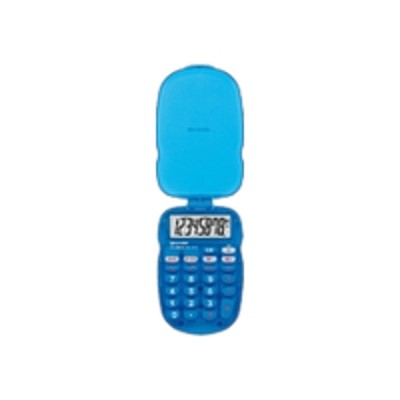 Sharp Els10bbl Els10bbl - Pocket Calculator - 8 Digits - Battery - Blue
