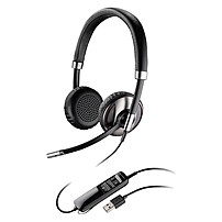 Plantronics Blackwire C520 Headset - Stereo - Usb - Wired - Over-the-head - Binaural - Supra-aural - Noise Cancelling Microphone 88861-01