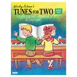 Alfred 44-0571 Tunes for Two- Duets- Book 1- Level 1 - Music Book