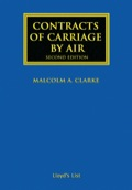 Contracts of Carriage by Air, Second Edition contains annotated analysis of the provisions of the international conventions governing the carriage of goods and passengers by air.This book provides you with practical advice and brings you:• An overall view of the two liability regimes, followed by a short history of the Warsaw Convention in its various versions and what led to agreement on a single regime, the Montreal Convention, as well as the threat to uniformity posed by EC Directives.• A statement of the rules of interpretation applicable to conventions of uniform law, illustrated mainly by decisions of the air conventions.• Commentary on the text of the 1999 Montreal Convention together with commentary on the text of the 1967 Warsaw Convention.• Reference to decisions of the courts not only of the UK but also those of other common law countries, notably the USA, and countries of civil law, notably France and Germany.