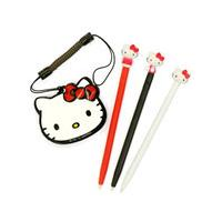 Hello Kitty Touch Stylus Pen Set (Nintendo 3DS, DSi XL, DSi, DS Lite)