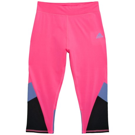 Practice Color-block Capris Tights (for Big Girls)