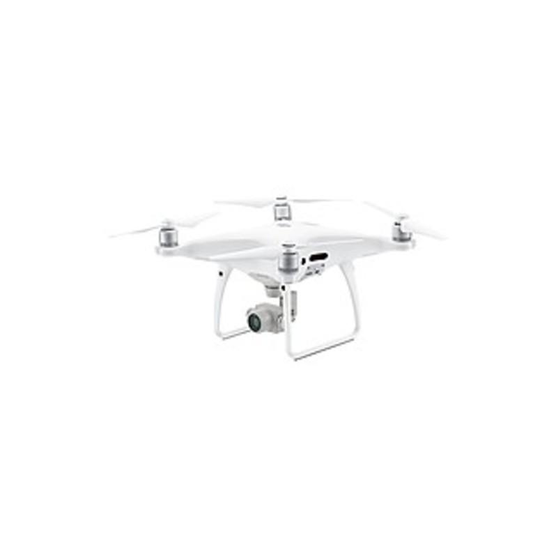 Dji Phantom 4 Pro Aerial Drone - 2.40 Ghz, 2.48 Ghz, 5.73 Ghz, 5.83 Ghz - Battery Powered - 0.50 Hour Run Time - 22965.88 Ft Operating Range - Wi-fi