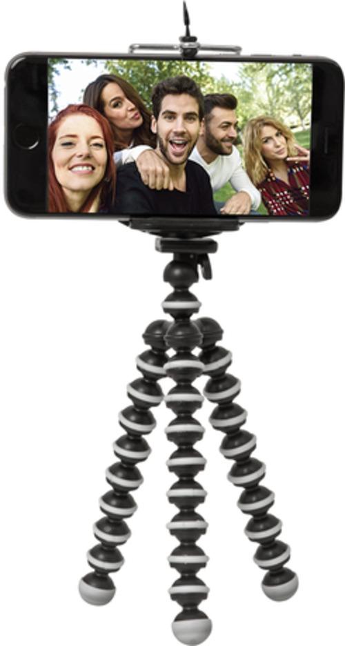 Retrack Emerge 816983018181 Selfie Tripod With Bluetooth Remote - Black