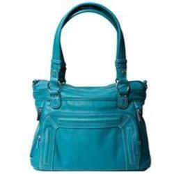 Epiphanie Ginger Shoulder Camera Bag, Turquoise
