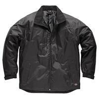 Dickies Mens Fulton Contract Waterproof Jacket Black Large