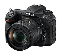 Nikon 1560 D500 Dx-format Slr Digital Camera With 16-80mm Ed Vr Lens - 3.2-inch Touchscreen Lcd - 16:9 - 5x Optical Zoom - I-ttl - 5568 X 3712 Image - 3840 X 2160 Video - Hdmi - Pictbridge - Hd Movie Mode - Wireless Lan