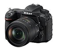 Nikon 1560 D500 Dx-format Slr Digital Camera With 16-80mm Ed Vr Lens - 3.2-inch Touchscreen Lcd - 16:9 - 5x Optical Zoom - I-ttl - 5568 X 3712 Image - 3840 X 2160 Video - Hdmi - Pictbridge - Hd Movie Mode - Wireless Lan