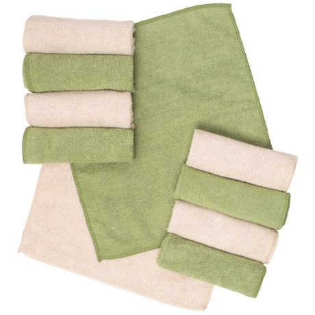 Microfiber Cleaning Cloths - 10-pack