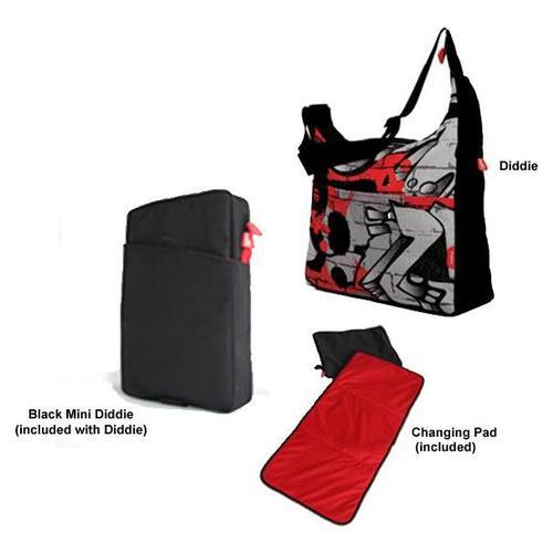 phil&teds Diddie Bag w/ Mini Diddie & Changing Pad