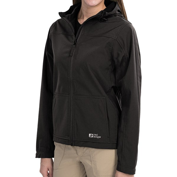 Red Ledge Gauntlet Hooded Soft Shell Jacket - Waterproof (for Women)