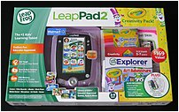 Leapfrog Leappad2 68024 Learning Tablet With Crayola Creativity Pack For 3-9 Years - 4 Gb - 5.0-inch Touchscreen Display - Purple