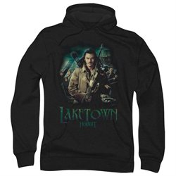 The Hobbit Desolation of Smaug Movie Protector Adult Pull-Over Hoodie