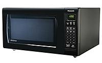 Panasonic Nn-h965bf Luxury Full Size 2.2 Cubic Feet 1250 Watts Microwave Oven - Black
