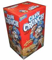 Captain Crunch Sweetened Corn And Oat Cereal 40 Ounce Two 20 Ounce Bag Value Box