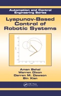 Lyapunov-based Control Of Robotic Systems