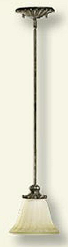 Barcelona 1-Light Pendant Mystic Silver