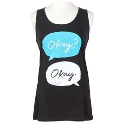 The Fault In Our Stars Okay Girls Tank Top