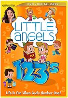In 20th Century Fox Little Angels  123's Alex and Zoe learn how to count to 12 with the help of their angelic friends
