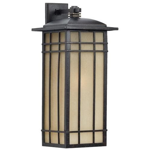 Hillcrest Outdoor Wall Lantern in Imperial Bronze