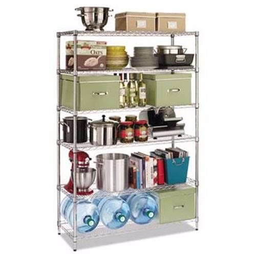 Alera Commercial Wire Shelving Kit - ALESW664818SR
