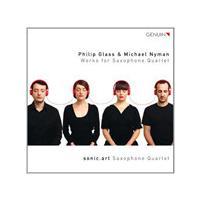 Philip Glass & Michael Nyman: Works for Saxophone Quartet (Music CD)