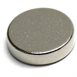 N45 Neodymium Magnets Disc Dia 0.25 X0.062 Inch NdFeB Rare Earth Lot 10
