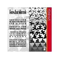 Paul Hindemith - Sonatas For Winds And Piano Vol. 2 (Persichilli, Borgonovo) (Music CD)
