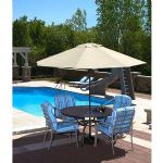 SPRING-UP 9-FT OCTAGONAL MARKET UMBRELLA IN CHAMPA