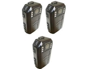 Construction Body Worn Camera-package Of 3 To Catch Critical Work Incidents.