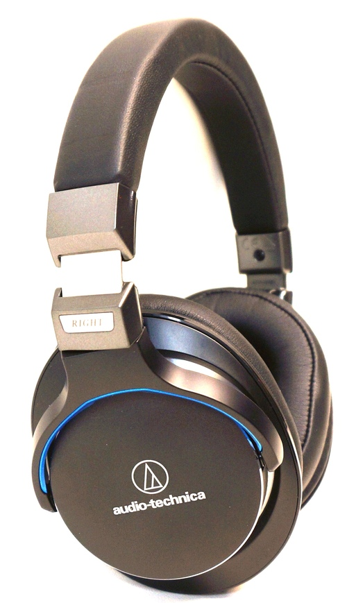 Audio-technica Sonicpro Over-ear High-resolution Audio Headphones - Stereo - Black - Mini-phone - Wired - 35 Ohm - 5 Hz - 40 Khz - Gold Plated - Over-