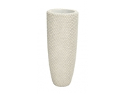Benzara 50159 Beauty And Utility Polystone Pearl Vase