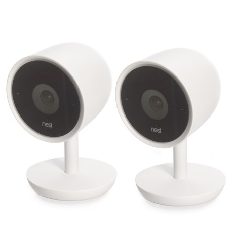 Cam Iq Indoor Smart Home Security Cameras - 2-pack