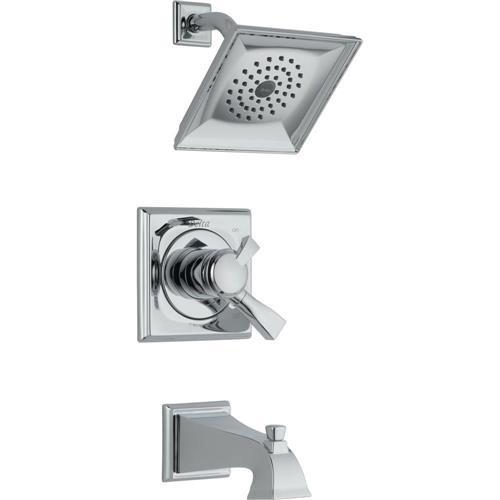 Delta 174930 Lockwood Single-Handle 1-Spray 2.5 GPM Tub and Shower in Chrome