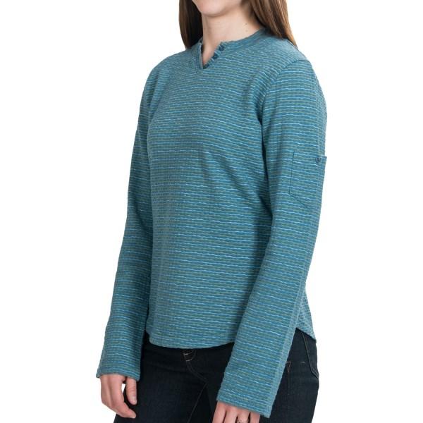Woolrich Norrine Mock Henley Shirt - Long Sleeve (For Women)