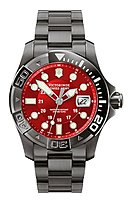 Victorinox 241430 Swiss Army Men's Dive Master 500 Black Ice Men's Watch - Analog Quartz Movement - Anti-reflective Sapphire Crystal - Stainless-steel Case - Water Resistant To 1640 Feet